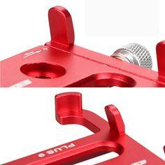 GUB PLUS 9 Aluminum Alloy Bike Phone Holder For iPhone X SE 7/8 Plus 6/6s Plus Samsung Galaxy s6/s7/s8/s9 Plus Android Sale - Banggood.com