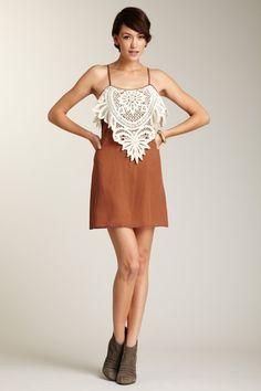 Kiss Crochet Front Dress