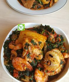 Kale Efo Riro (Nigerian Kale Soup) - Aliyah's Recipes and Tips , Mexican Food Recipes, Soup Recipes, Cooking Recipes, Healthy Recipes, Ethnic Recipes, African Recipes, Nigeria Food, Ghanaian Food, West African Food