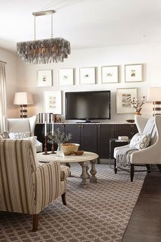 Copy Cat Chic Room Redo | Warm and Cozy Family Room