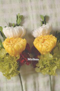 仏花にもプリザーブドフラワーです。以前ご注文頂いたお客様からのリピートです。