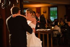 Father Daughter dance within Eagle Tavern