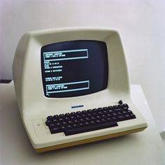 vintage desktop computer