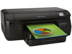 Impressora HP Officejet Pro 8100 ePrinter N811a - Jato de Tinta Colorida Wi-Fi