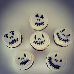 Scary Cup Cakes