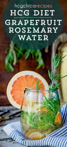 21 calories - P2 hCG Protocol Refresher Recipe: Rosemary Grapefruit Water - hcgchicarecipes.com - drink meal - hcg diet phase 2 recipe hcg diet p2 recipe hcg protocol cold drink idea hcg diet cold beverage recipe hcg diet grapefruit recipe hcg diet refreshment recipe hcg diet refresher recipe