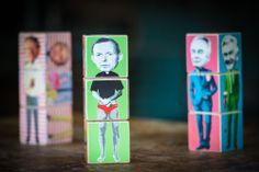 Tony Abbott stars in POLIBLOCKS Australian LIberal PM series