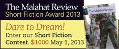 Far Horizons Short Fiction Contest - Malahat Review