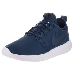 Take flight when you run in these Nike Roshe running shoes. These women's shoes have a padded collar and a foam sock liner for superior comfort. The ribbed design shifts colors with your movement. Mat