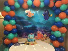 Ezra's First Birthday! Finding Nemo Finding Dory Cake Decor