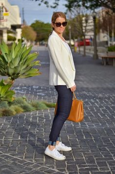 5+ Ways to Style White Blazer | How to Wear a Blazer with Your LBD to Your Most Comfortable Jeans | Luci's Morsels :: LA Denim Blogger