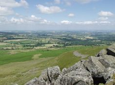 Clee Hill - you cannot beat the view on a clear day