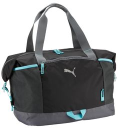 211cdad2dd Blue and Black Puma Bag Sac Fitness Workout pour femme Puma Bleu et Noir
