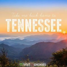 Take me back home to Tennessee
