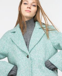 Image 2 of WOOL COAT from Zara