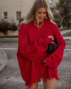 """Elle Ferguson on Instagram: """"Do you have a power colour?"""" Elle Ferguson, Power Colors, High Fashion, Womens Fashion, Sweater Weather, Simple Style, Bell Sleeve Top, Classy, Sweaters"""