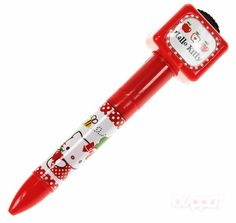 Hello Kitty ballpoint pen (projector)