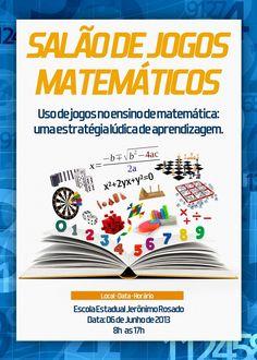 Salão de Jogos Matemáticos: jogos tradicionais e modernos como uma estratégia lúdica de aprendizagem