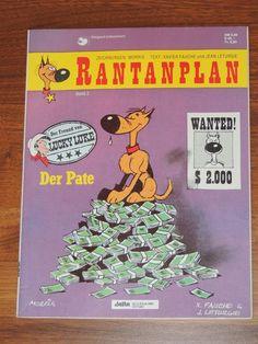 Rantanplan Band #2 Der Pate (Delta Verlag) Western Comics, Lucky Luke, Comic Books, Ebay, Drawing S, Comic Strips, Cartoons, Comic Book, American Frontier