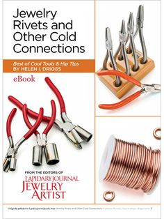 """On my list """"To Purchase"""" Jewelry Rivets and Other Cold Connections (eBook) - Interweave"""