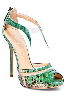 pinterest.com/fra411 #shoes - Ermanno Scervino - Women's Accessories - 2014 Spring-Summer LBV