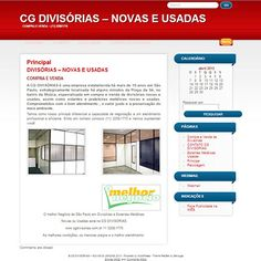 Site Criado para CG Divisorias