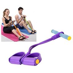 25f99c5987a Resistance Band Tummy Action Rower Tummy Trimmer Pull-up assistance  Exerciser Rope Training Equipment physical