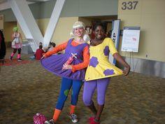 Costume coordination game is on fleek! #Rugrats #Susie #Angelica