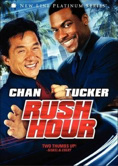 "Rush Hour (1998) Poster - ""Do you understand the words that are coming out of my mouth?!?"""