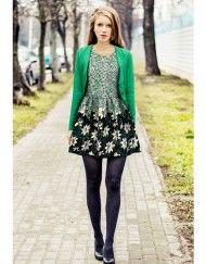 Stylish Floral Sweet Dress