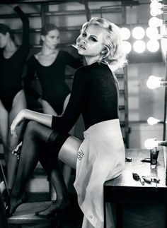 Ginta Lapina for Vogue Russia by Vincent Peters