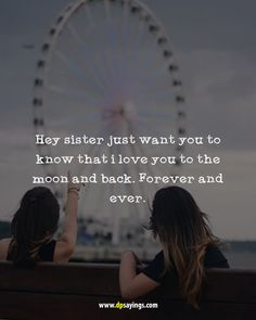 Top Inspiring Quotes about Sisters & sister quotes distance Sister Quotes Images, Cute Sister Quotes, Sister Friend Quotes, Little Sister Quotes, Sibling Quotes, Best Friend Quotes Funny, Love My Sister, Brother Quotes, Family Quotes