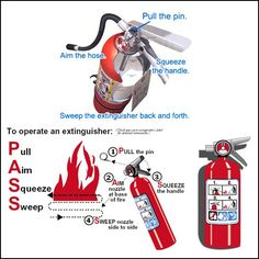 Want to Know the Right Way Usage of Fire extinguishers? We supply Fire Extinguisher Products with Great Deals by Online Orders @ www.steelsparrow.com