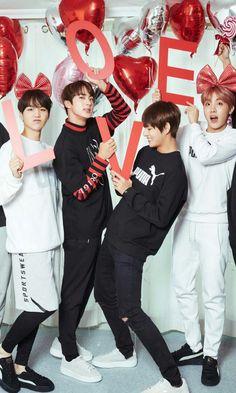 Jhope, suga, V y jin | BTS