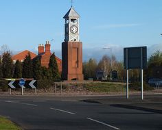 clock tower Donnington telford