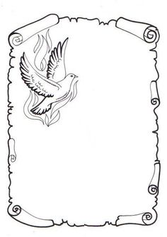 Dibujos De Pergaminos images, similar and related articles aggregated throughout the Internet. Page Borders Design, Border Design, Borders For Paper, Borders And Frames, Banner Drawing, Wood Burning Patterns, Parchment Craft, Pencil Art Drawings, Writing Paper