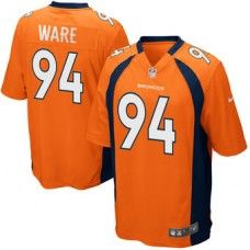 Youth Denver Broncos DeMarcus Ware Nike Orange Team Color Game Jersey