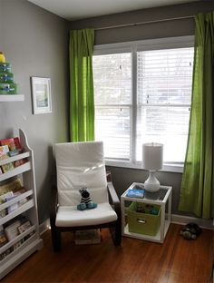 boys room grey and green