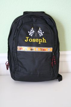 Personalized Backpack Designed by You by EmbroideryMark on Etsy, $26.00