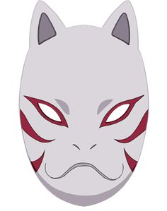 Kakashi's ANBU Porcelain Mask. My personal favorite Naruto Tattoo, Anbu Tattoo, Mask Tattoo, Kakashi Anbu Mask, Naruto Vs Sasuke, Itachi Uchiha, Anime Naruto, Mascara Anbu, Kitsune Maske