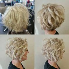 Best Short Haircuts for Women with Curly Hair short-curly-hair-for-older-women Best Short Haircuts for Women with Curly Hair Related posts:Short haircutsshort but femBeautiful Short Hair Styles For Blondes Curly Bob Hairstyles, Short Curly Hair, Curling Short Hair, How To Curl Short Hair, Short Hair With Perm, Styling Short Hair Bob, Curling Hair With Flat Iron, Girl Hairstyles, Wedding Hairstyles