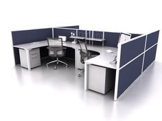 Smart50 4 Person Corner H Workstation by JP Office Workstations http://www.jpofficeworkstations.com.au/