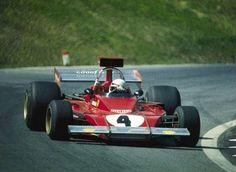 1973 Gran Premio d'Austria Österreichring Scuderia Ferrari SpA SEFAC Ferrari 312B3 N°4 Arturo Merzario