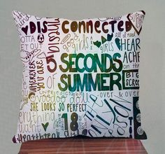 5Seconds of Summer Best Design Pillow Cover Made by ByBoyPillow, $16.50
