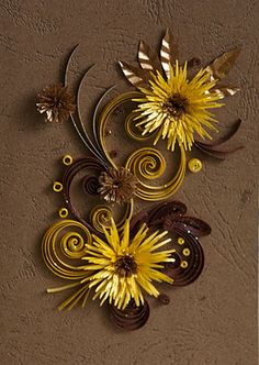 Quilling by Neli. More fun stuff to visit here!