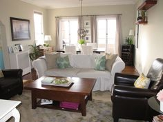 Image result for jolyn photo living dining room combo