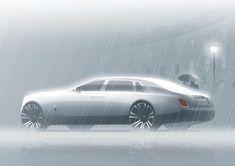 2018 Rolls-Royce Phantom press image #cardesign #car #design #carsketch #sketch #drawing #rollsroyce #rollsroycephantom