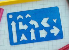 Arrows, Planner Stencil, Bullet Journal Stencil - 049