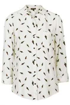Chilli Print Shirt - Topshop