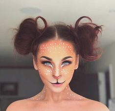 Bambi Inspired Makeup for Unique Halloween Makeup Ideas to Try